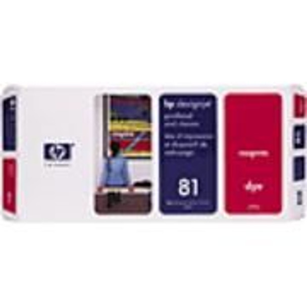 Image for HP 81 Magenta Dye Printerhead and Cleaner (C4952A) AusPCMarket