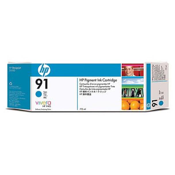 Image for HP 91 775ml Print cartridge 1 x pigmented cyan (C9467A) AusPCMarket