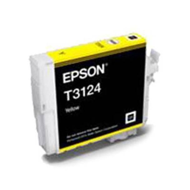 Image for Epson T3124 UltraChrome Hi-Gloss2 Yellow Ink Cartridge AusPCMarket