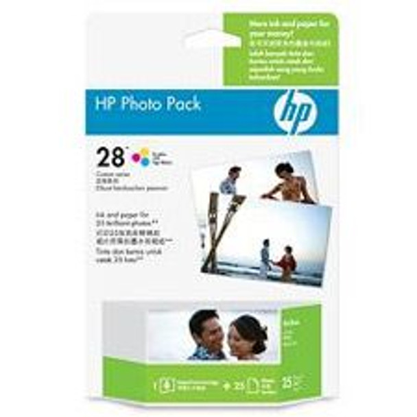 Image for HP 28 Photo Value Pack 4inx6in 25 Sheets (Q8893AA) AusPCMarket