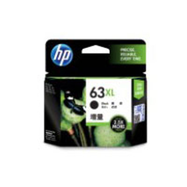 Image for HP #63XL Black Ink Cartridge 480 pages (F6U64AA) AusPCMarket