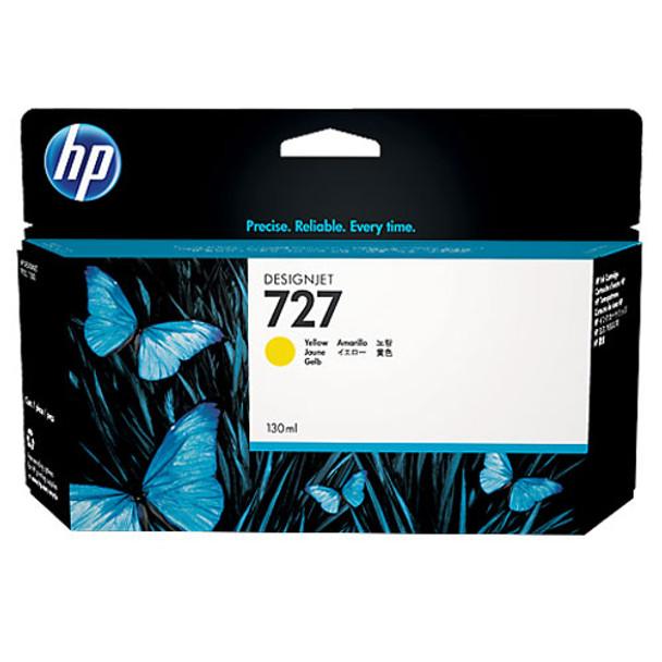 Image for HP 727 130-ml Yellow Designjet Ink Cartridge B3P21A AusPCMarket