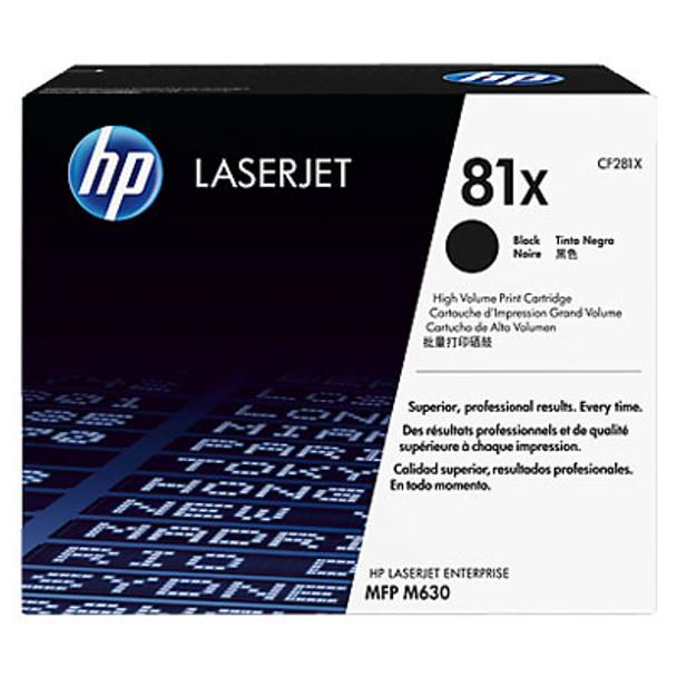 Image for HP #81X Black Toner CF281X 25,000 pages AusPCMarket