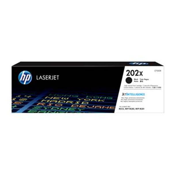 Image for HP 202X LaserJet Toner Cartridge - Black (CF500X) AusPCMarket