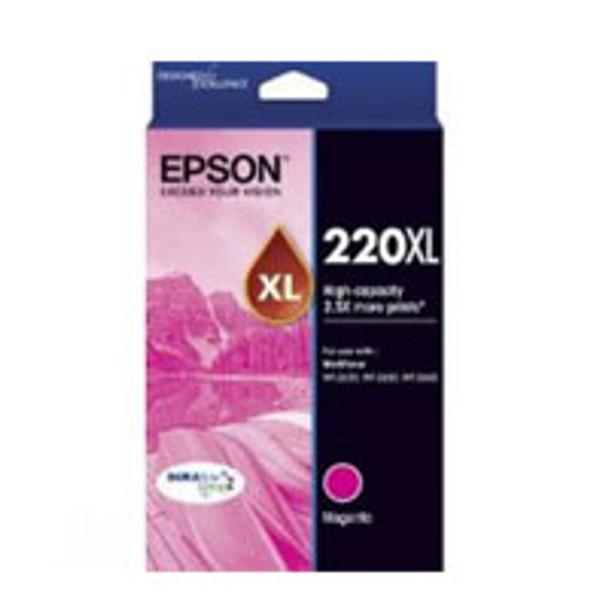 Image for Epson 220 HY Magenta Ink Cartridge AusPCMarket