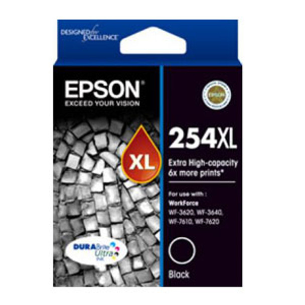 Image for Epson 254XL High Yield Black Ink Cartridge 2,200 pages AusPCMarket