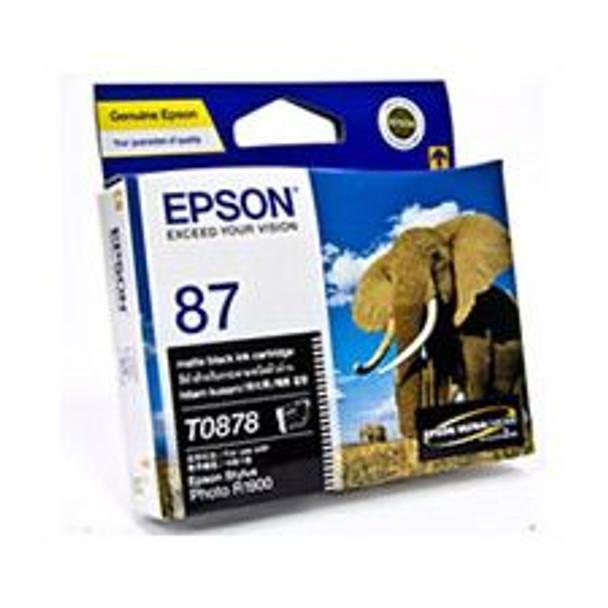Image for Epson T0878 UltraChrome Hi-Gloss2 Matte Black (T087890) AusPCMarket