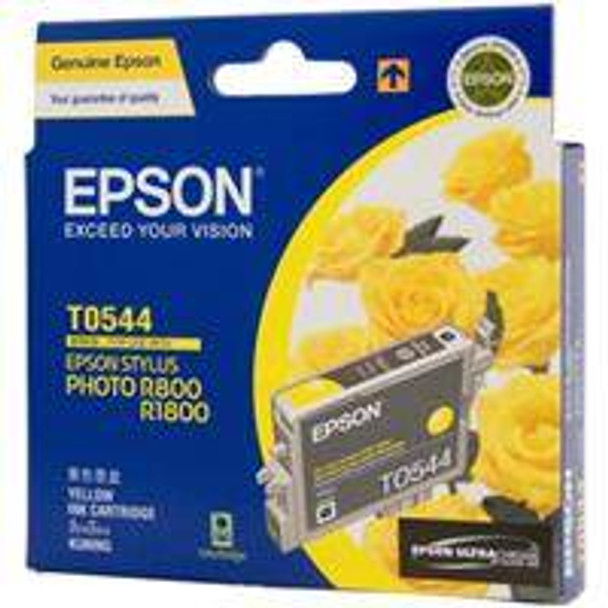 Image for Epson T0544 Stylus Yellow Ink 440 pages (T054490) AusPCMarket
