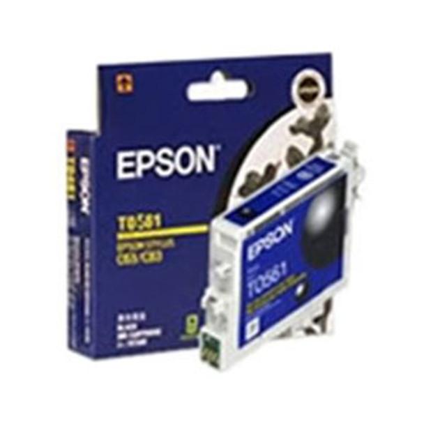 Image for Epson T0561 Black Ink Cart 290 pages Black AusPCMarket