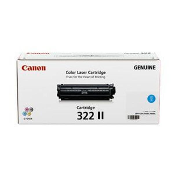 Image for Canon Cyan High Yield Toner cartridge - (CART322CII) AusPCMarket