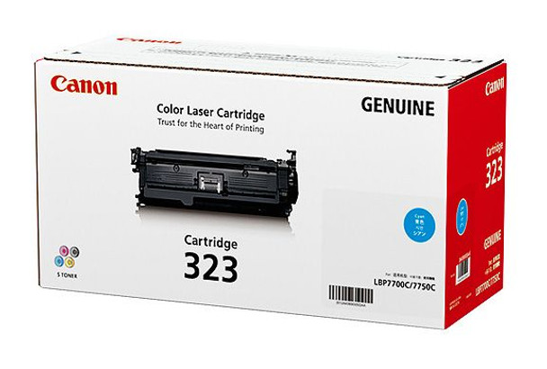 Image for Canon CART323C Cyan Toner cartridge AusPCMarket