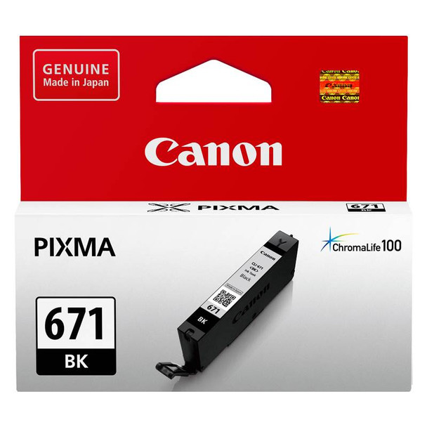 Image for Canon CLI-671BK Black Ink Cartridge AusPCMarket