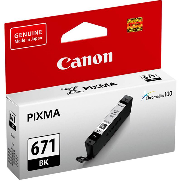 Canon CLI-671BK Black Ink Cartridge Product Image 3