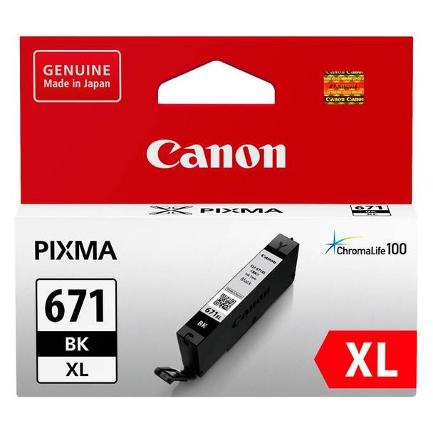Image for Canon CLI-671XLBK High Capacity Black Ink Cartridge AusPCMarket
