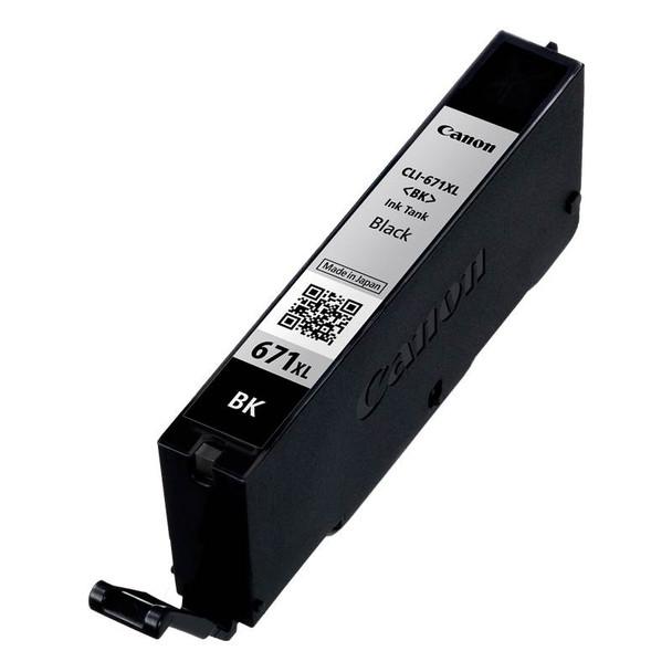 Canon CLI-671XLBK High Capacity Black Ink Cartridge Product Image 2
