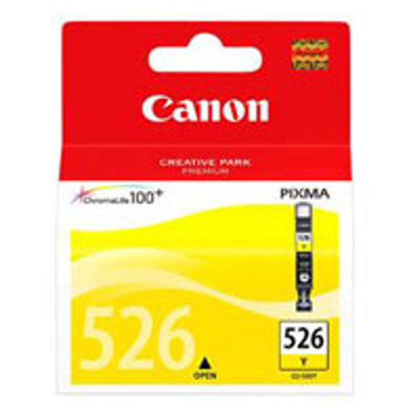 Image for Canon CLI526 Yellow Ink Cart 450 pages Yellow AusPCMarket