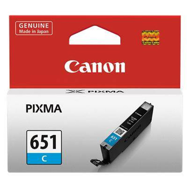 Image for Canon CLI651 Cyan Ink Cart 332 A4 pages (ISO/IEC 24711) Cyan AusPCMarket