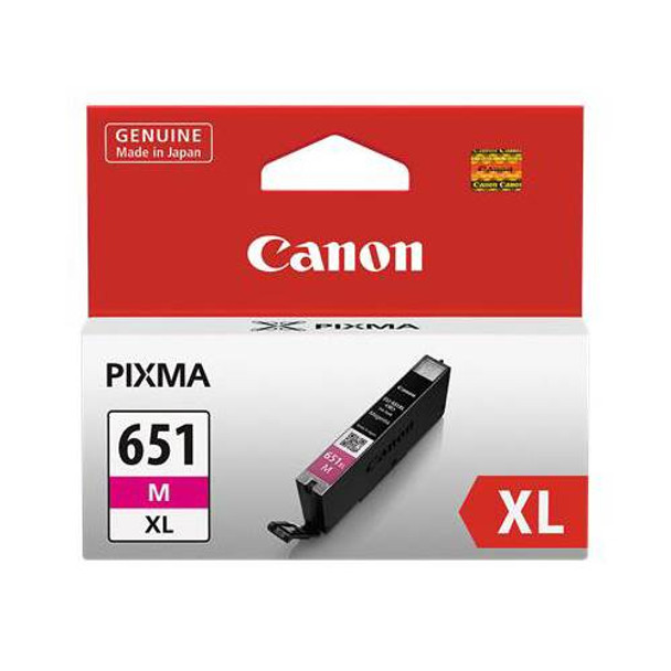 Image for Canon CLI651XL Mag Ink Cart 680 A4 pages (ISO/IEC 24711) Magenta AusPCMarket