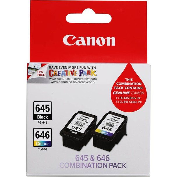 Image for Canon PG-645 CL-646 Twin Pack Ink Cartridge AusPCMarket