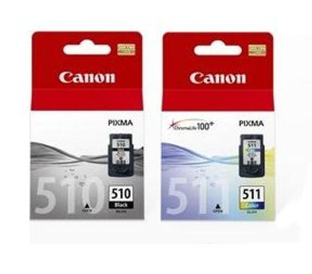 Image for Canon PG510CL511CP 1x PG-510 Black & 1x CL-511 Colour AusPCMarket