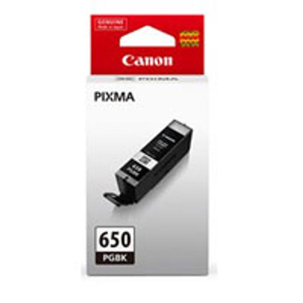 Image for Canon PGI650 Black Ink Cart 300 A4 Pages (ISO/IEC 24711) Black AusPCMarket
