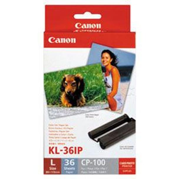 Image for Canon Print Cartridge / Paper Kit 89 x 119 mm (KL36IP) AusPCMarket