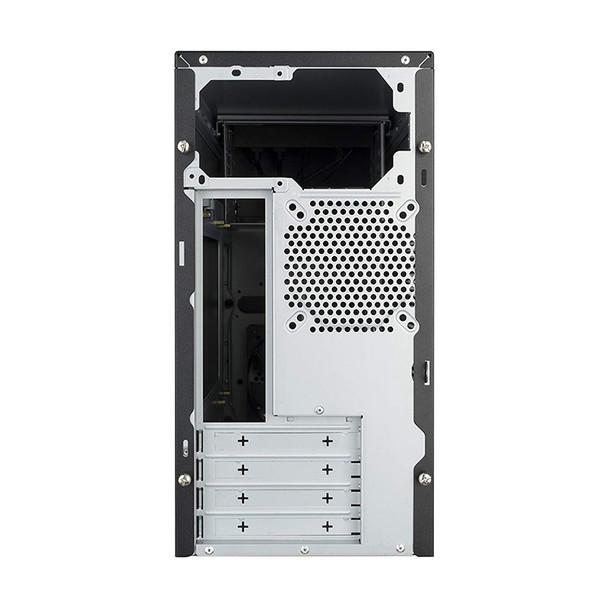 Cooler Master MasterBox E300L Mini Tower M-ATX Case - Silver Trim Product Image 3