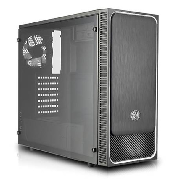 Image for Cooler Master MasterBox E500L Windowed Mid-Tower ATX Case - Silver AusPCMarket