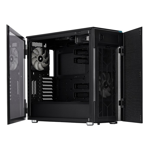 Corsair Carbide 678C Tempered Glass Mid-Tower E-ATX Case - Black Product Image 4