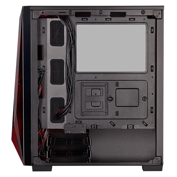 Corsair Carbide SPEC-DELTA RGB Mid-Tower Tempered Glass ATX Gaming Case - Black Product Image 11