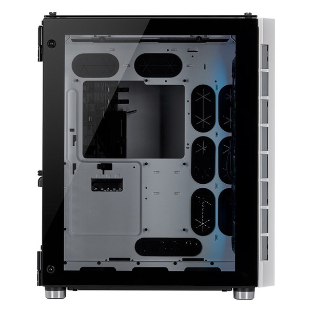 Corsair Crystal 680X Smart RGB Tempered Glass Mid-Tower E-ATX Case - White Product Image 4