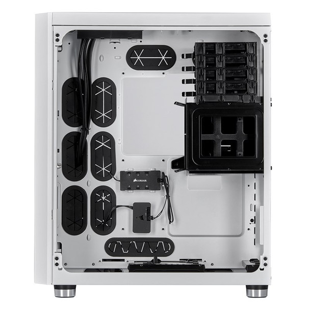Corsair Crystal 680X Smart RGB Tempered Glass Mid-Tower E-ATX Case - White Product Image 6