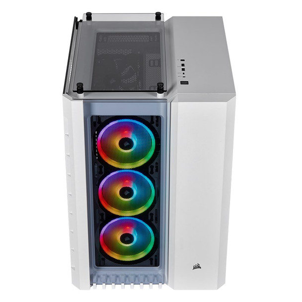 Corsair Crystal 680X Smart RGB Tempered Glass Mid-Tower E-ATX Case - White Product Image 10