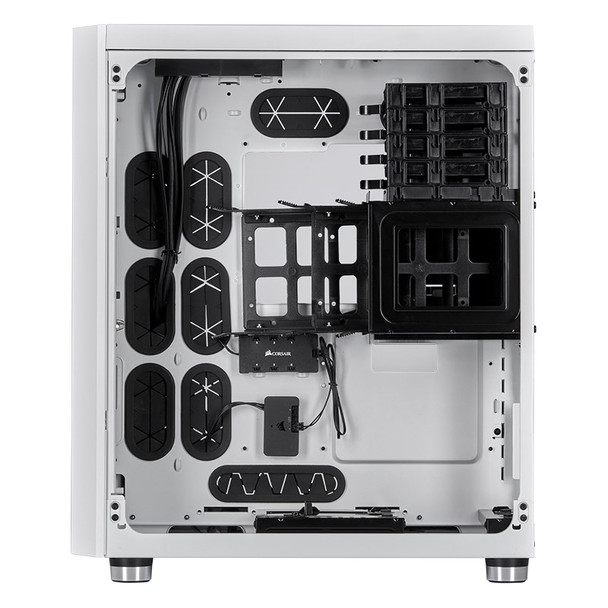 Corsair Crystal 680X Smart RGB Tempered Glass Mid-Tower E-ATX Case - White Product Image 11