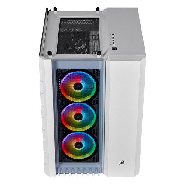 Corsair Crystal 680X Smart RGB Tempered Glass Mid-Tower E-ATX Case - White Product Image 13