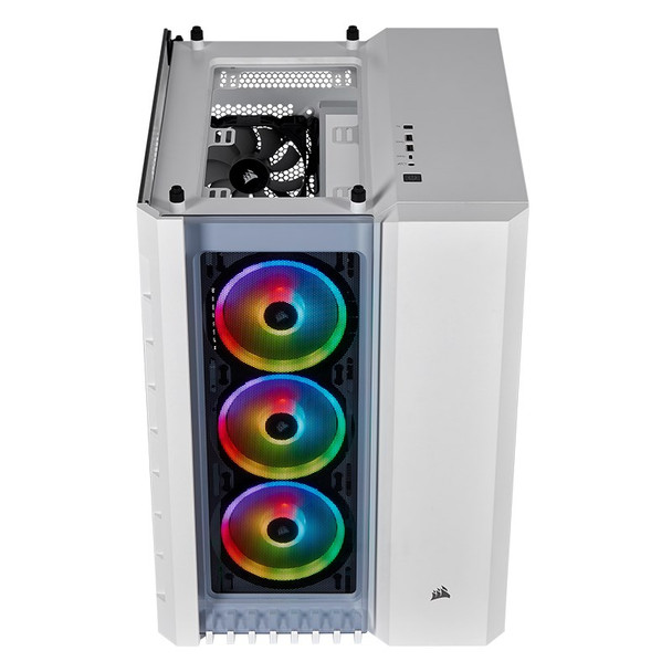 Corsair Crystal 680X Smart RGB Tempered Glass Mid-Tower E-ATX Case - White Product Image 14