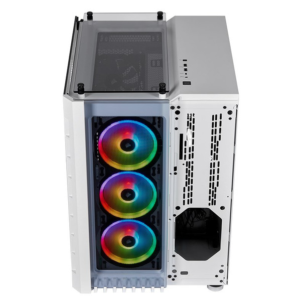 Corsair Crystal 680X Smart RGB Tempered Glass Mid-Tower E-ATX Case - White Product Image 15