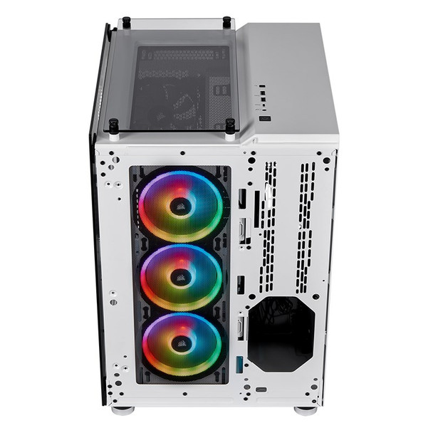 Corsair Crystal 680X Smart RGB Tempered Glass Mid-Tower E-ATX Case - White Product Image 16