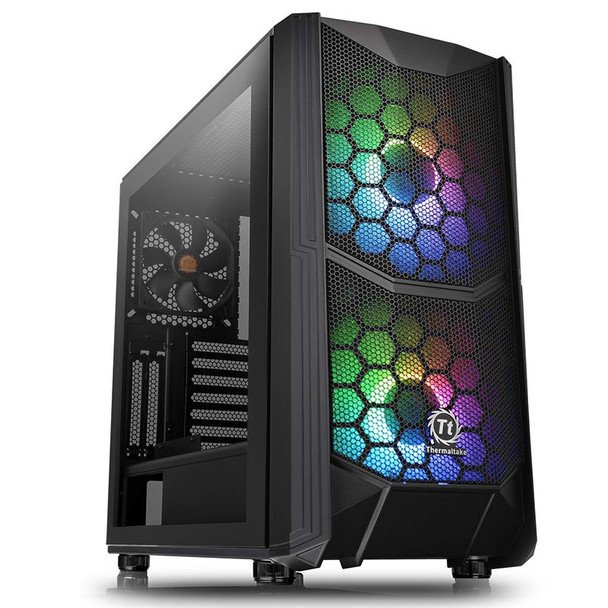 Image for Thermaltake Commander C35 Tempered Glass ARGB Mid-Tower ATX Case AusPCMarket