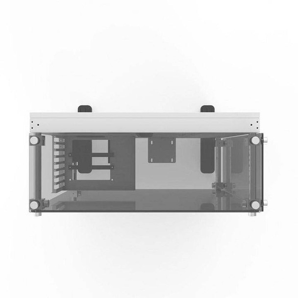 Thermaltake Core P5 Tempered Glass Wall Mount ATX Case - Snow Edition Product Image 4