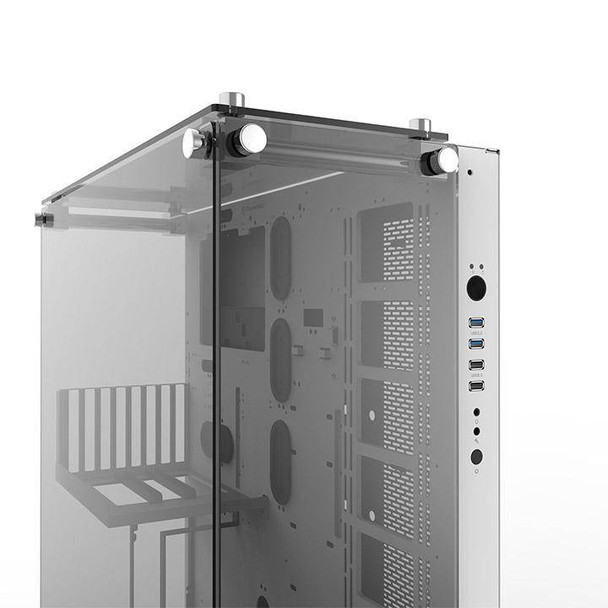 Thermaltake Core P5 Tempered Glass Wall Mount ATX Case - Snow Edition Product Image 20