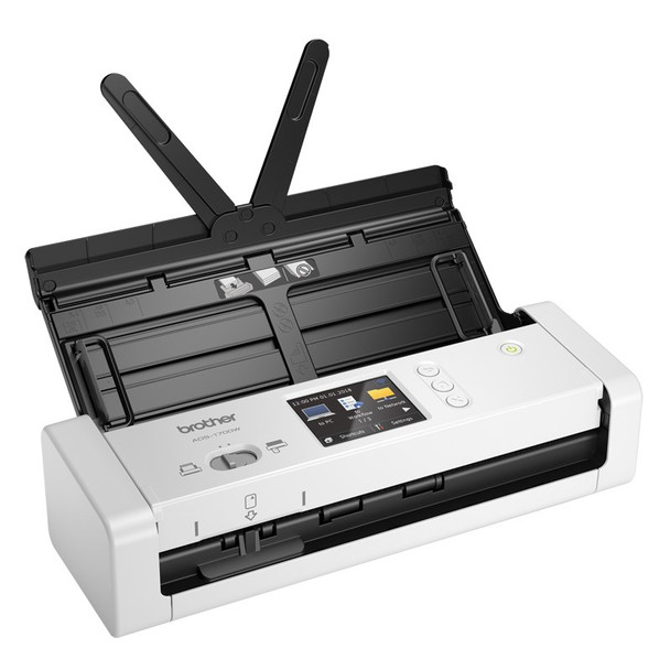 Brother ADS-1700W WiFi Portable Document Scanner Product Image 2