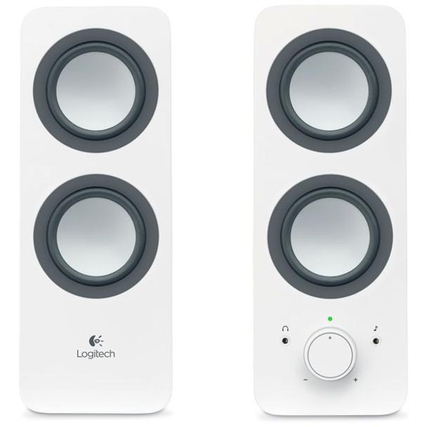 Image for Logitech Z200 Multimedia Speakers - Snow White AusPCMarket