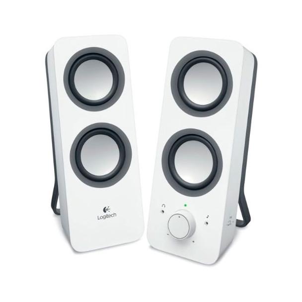 Logitech Z200 Multimedia Speakers - Snow White Product Image 2