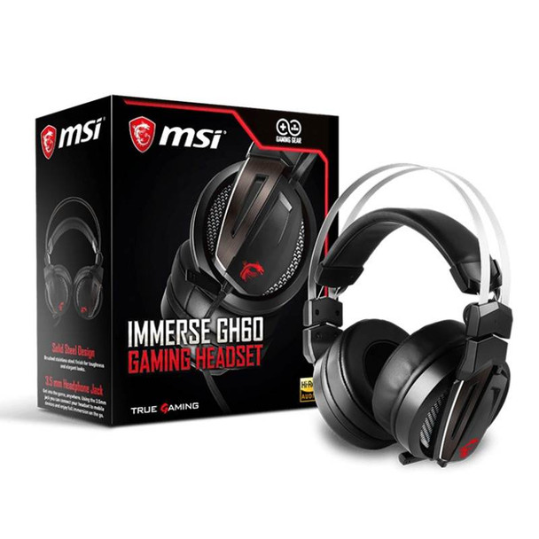 Image for MSI Immerse GH60 Gaming Headset AusPCMarket