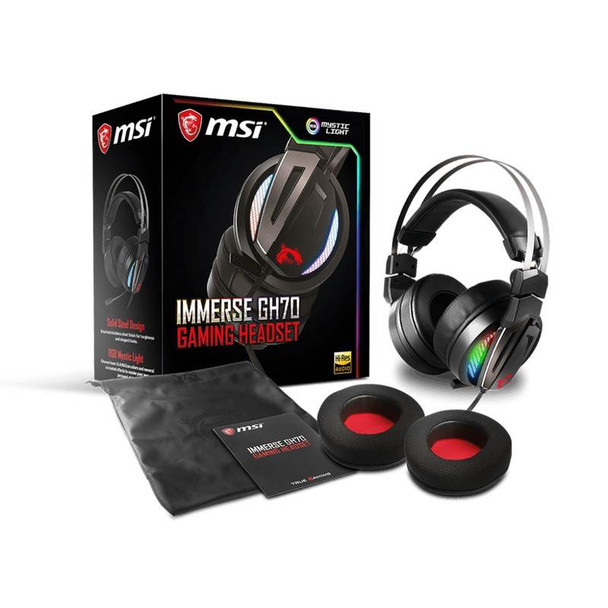 MSI Immerse GH70 Gaming Headset Product Image 3