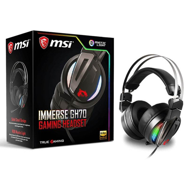 MSI Immerse GH70 Gaming Headset Product Image 5