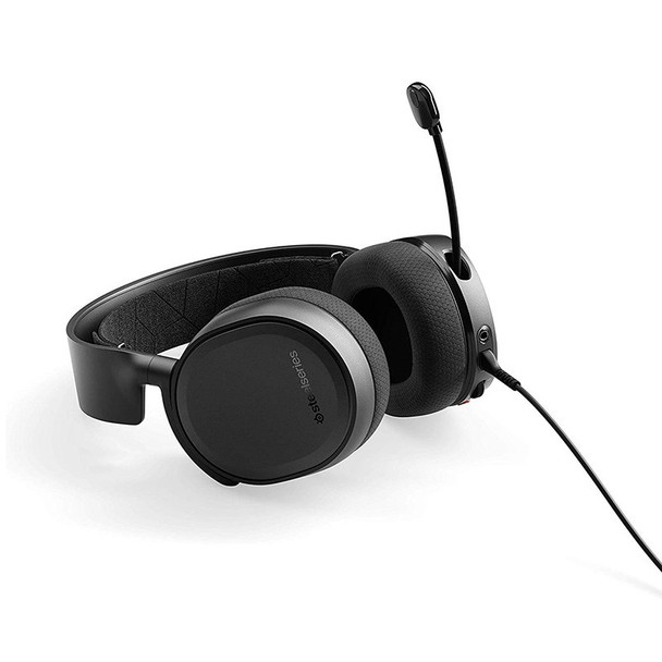 SteelSeries Arctis 3 Gaming Headset 2019 Edition - Black Product Image 5