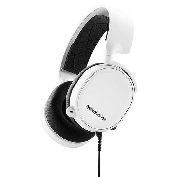 Image for SteelSeries Arctis 3 Gaming Headset 2019 Edition - White AusPCMarket