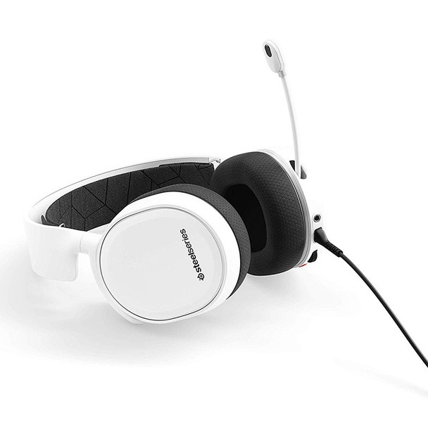 SteelSeries Arctis 3 Gaming Headset 2019 Edition - White Product Image 4